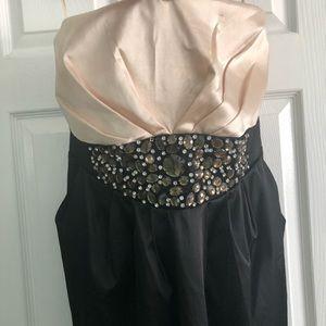 Torrid Strapless Cocktail Dress w/ Gem Detailing